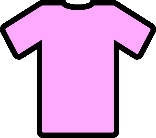 Pink Tee Shirt Clip Art at Clker.com.