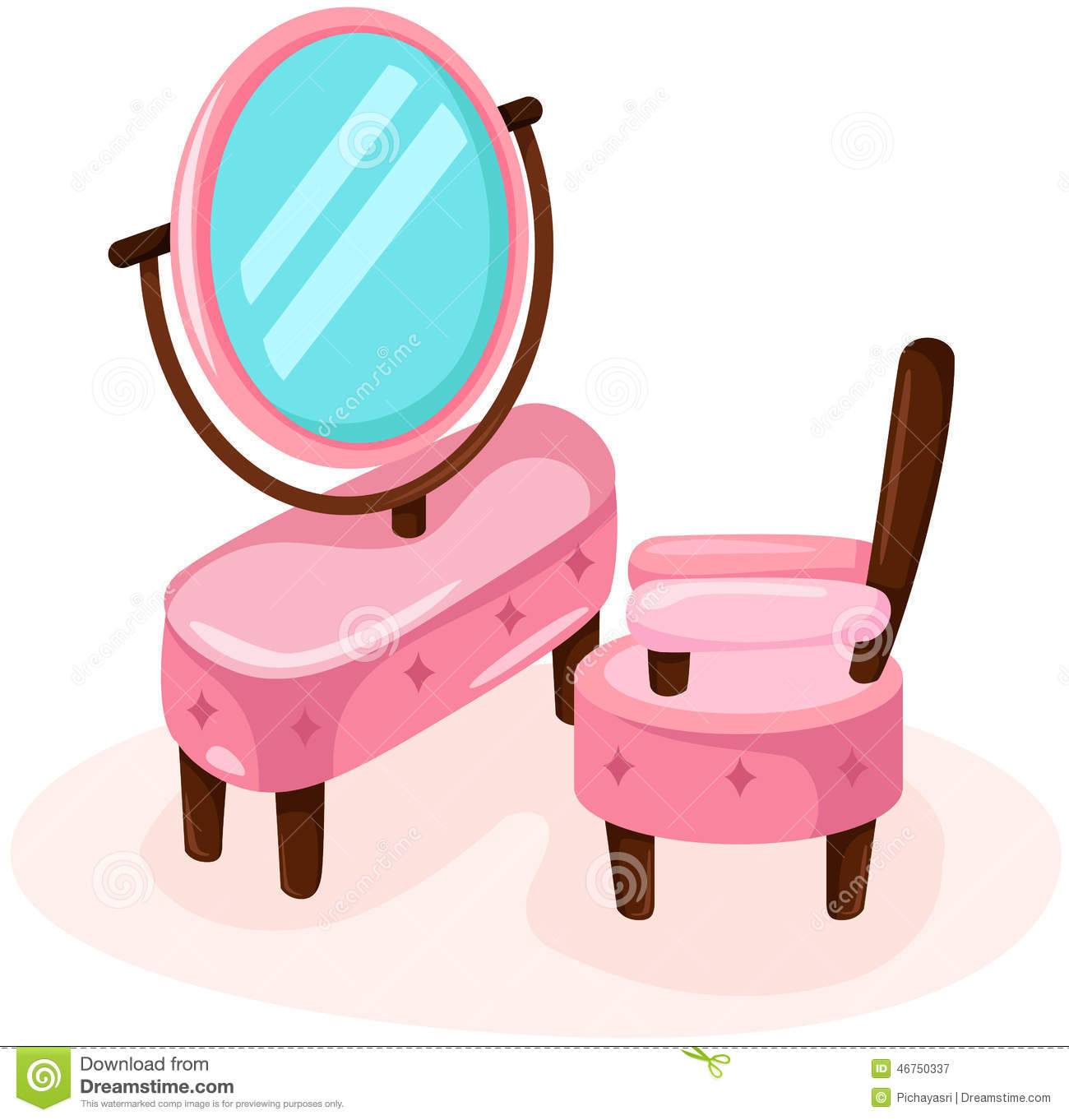 Showing post & media for Pink table cartoon.