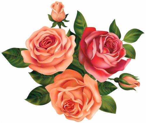 Pink Rose Clipart Pretty Rose.