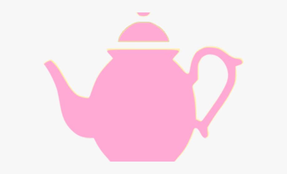 Teapot Clipart Pink Teapot.