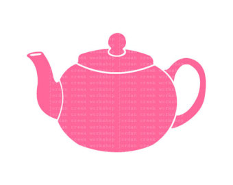 1129 Teapot free clipart.