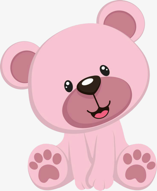 Pink teddy clipart 6 » Clipart Station.