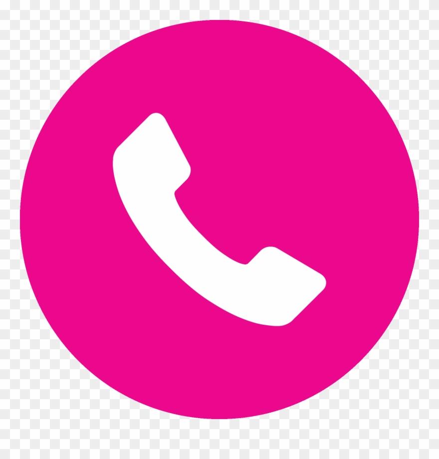 Telephone Pink Phone Clip Art At Clkercom Vector.