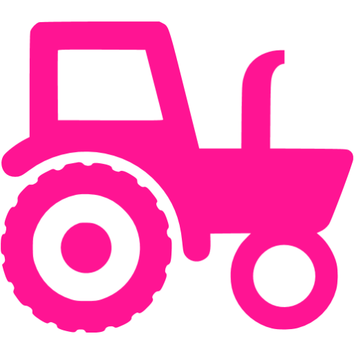 Pink tractor clipart clipart images gallery for free.