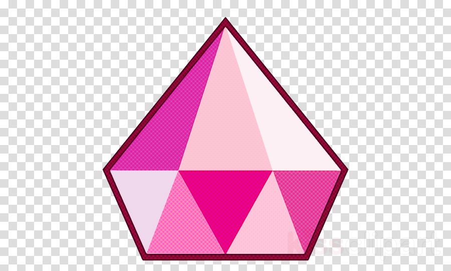 pink triangle magenta line triangle clipart.