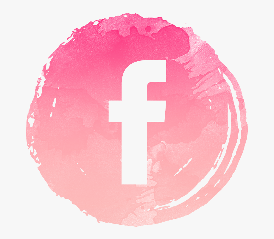Social Media Buttons Girly Png.
