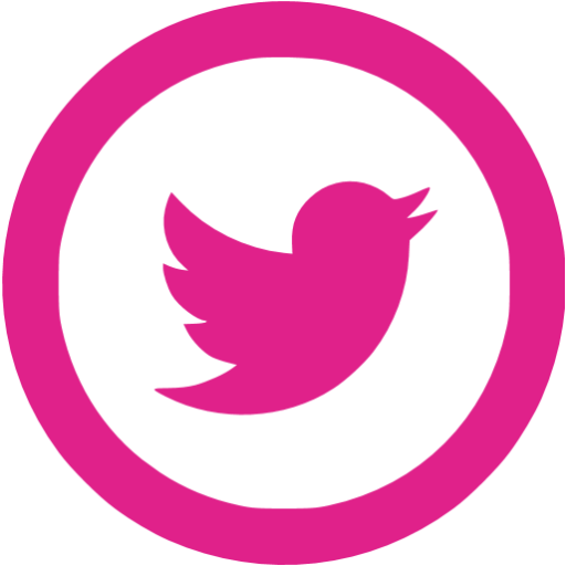 Pink twitter png, Pink twitter png Transparent FREE for.