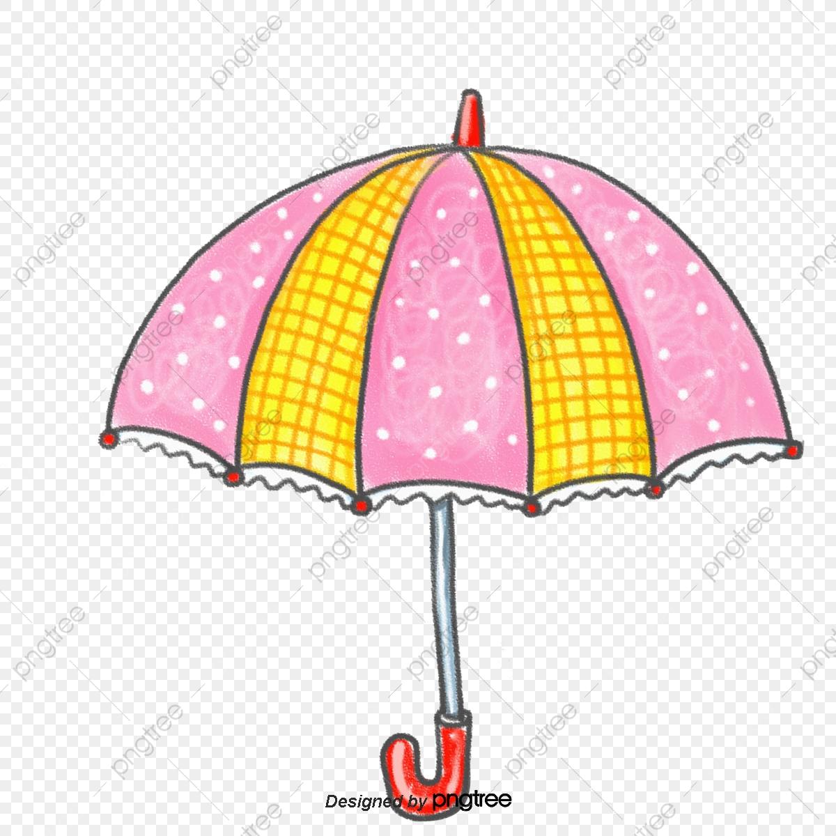 Pink Umbrella, Pink, Umbrella, Material PNG Transparent.