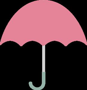 Pink Umbrella Clip Art at Clker.com.