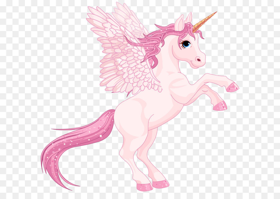Unicorn Cartoon png download.