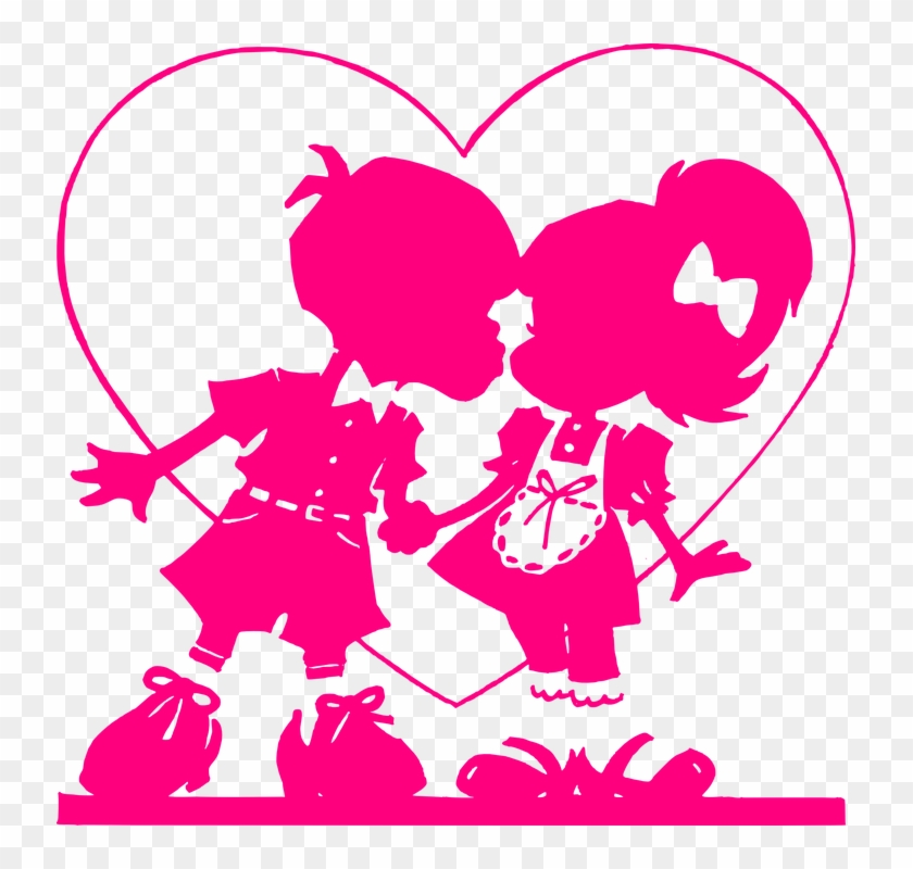 Kiss Clipart Heart Free Collection.
