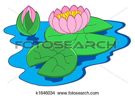 Water lily leaf clipart #19