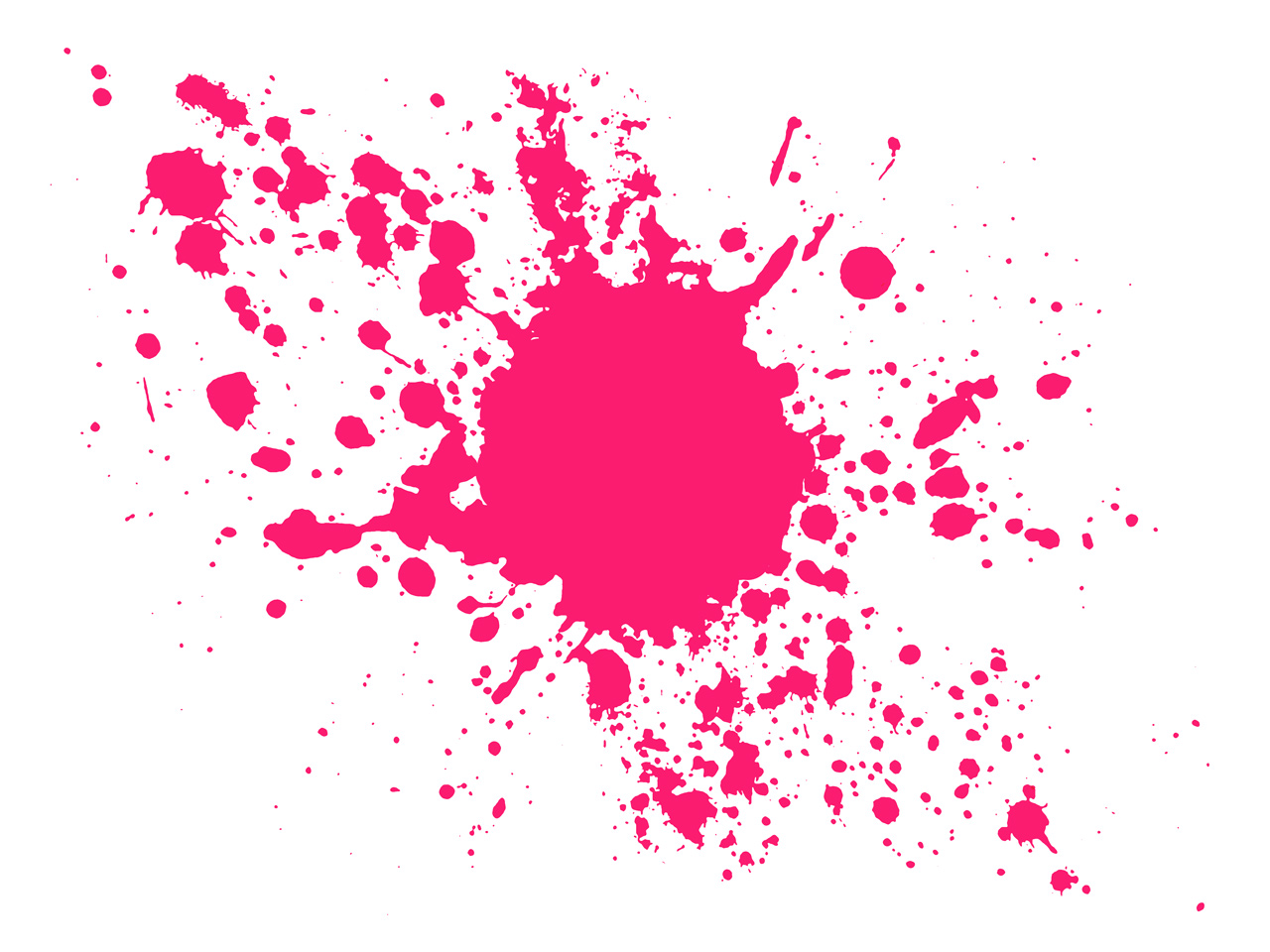 pink water splash clipart #17