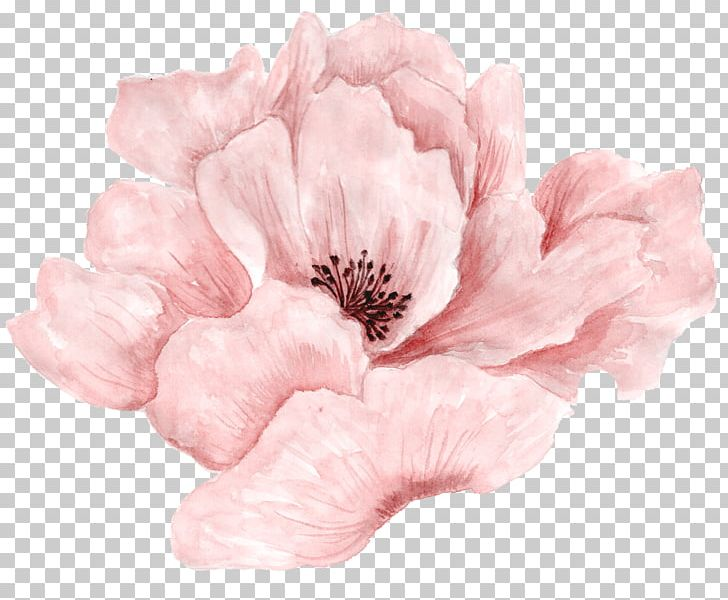 Pink Flowers Pink Flowers Watercolor Painting PNG, Clipart.