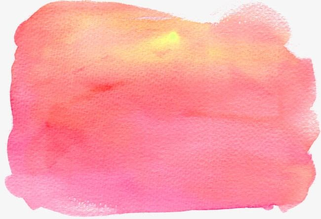 Pink Watercolor Effect PNG, Clipart, Brushes, Color, Color.