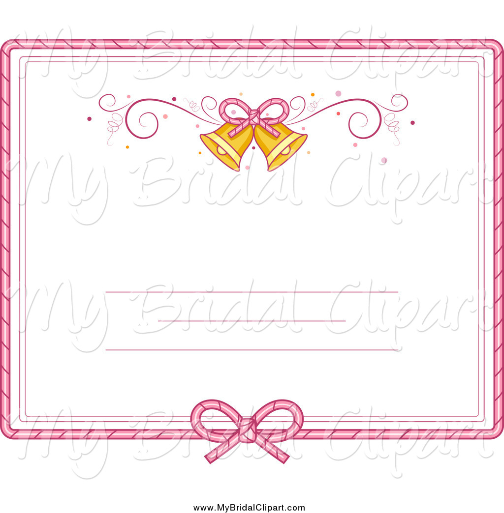 599 Wedding Bells free clipart.