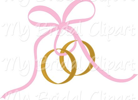 Wedding Rings Cross Clip Art Pink wedding ring clipart, Cross with.