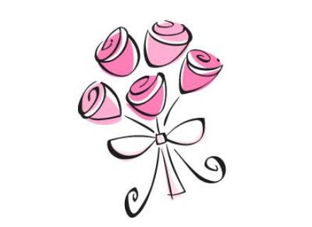 Pink Wedding Clipart.