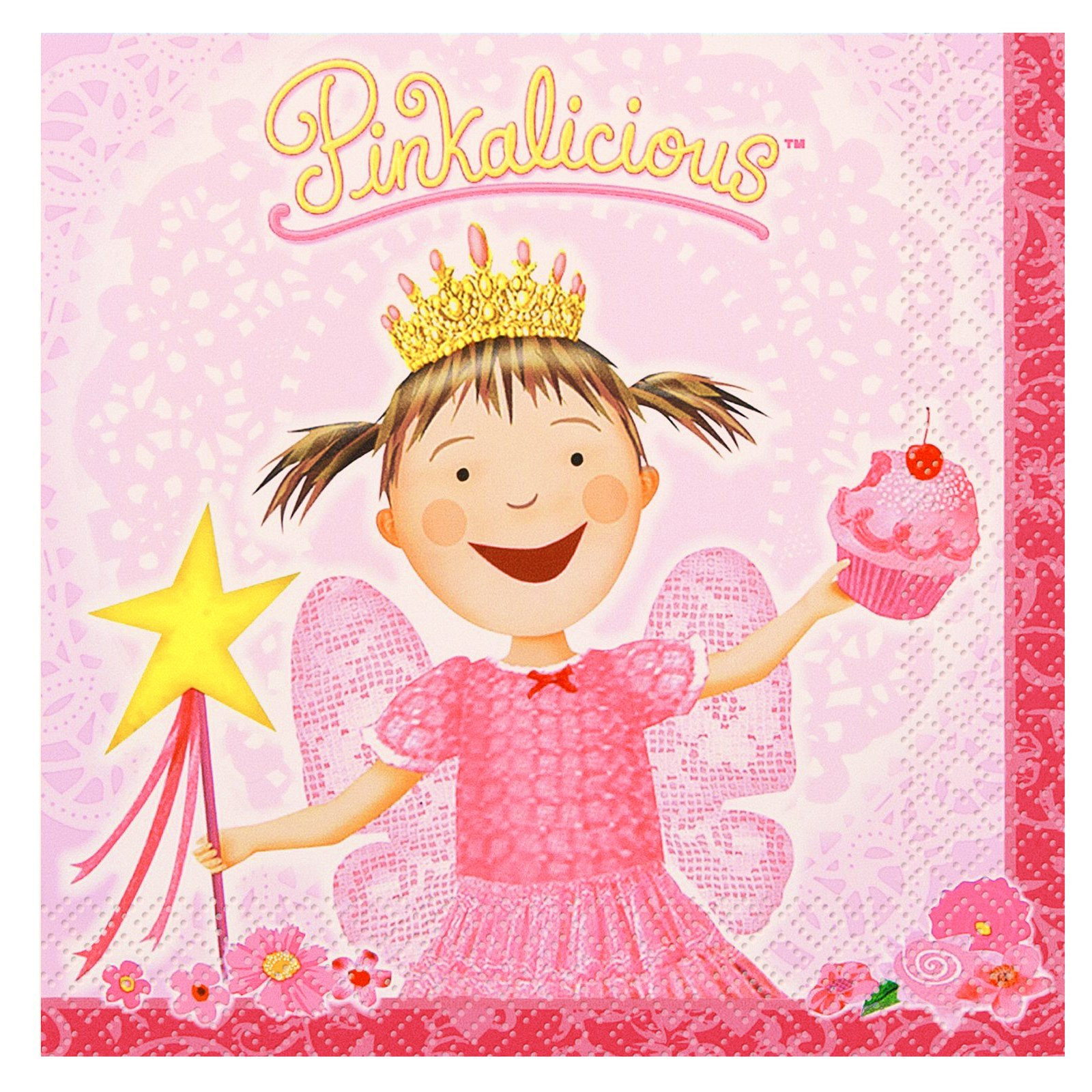 Pinkalicious Lunch Napkins (16 count) [Party Themes.