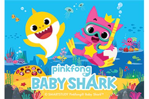 Pinkfong Baby Shark.