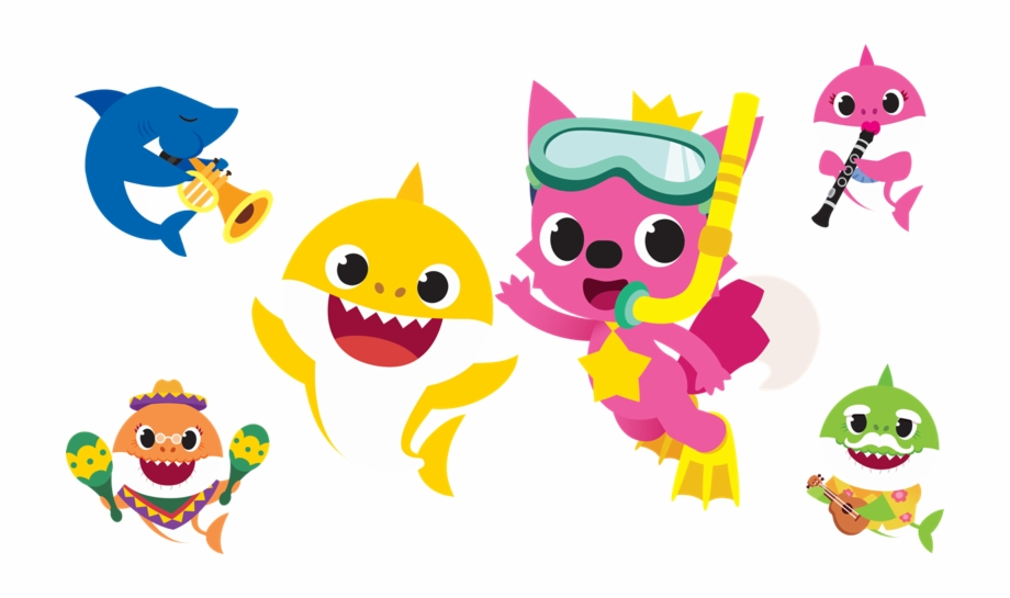Take An Adventure Into The Sea With Baby Shark As He.
