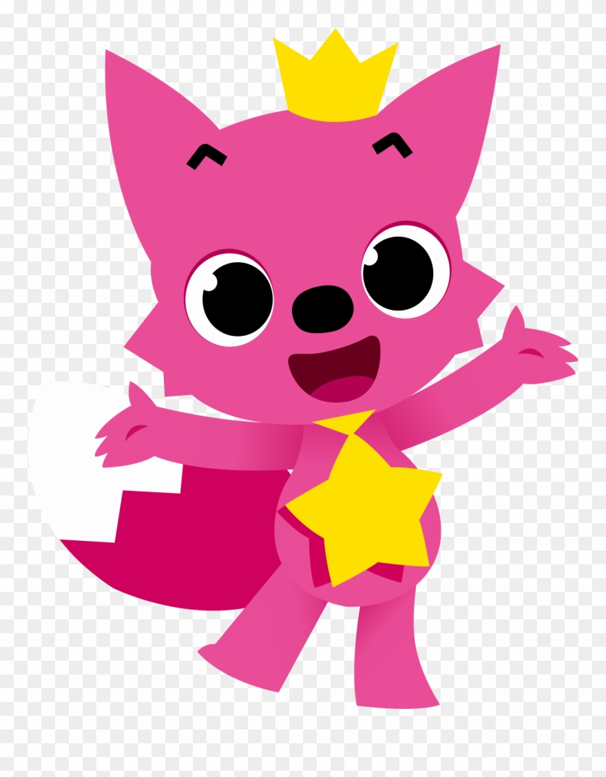 Pinkfong Baby Sharks Characters.