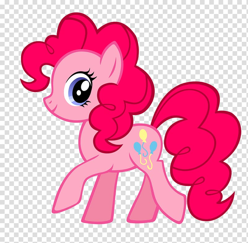Pinkie Pie My Little Pony Applejack Art, spot transparent.