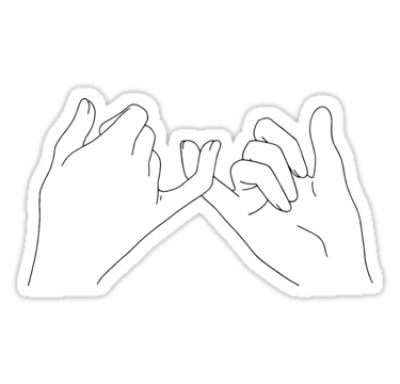 Download Free png pinky promise\' Sticker by katielavigna.