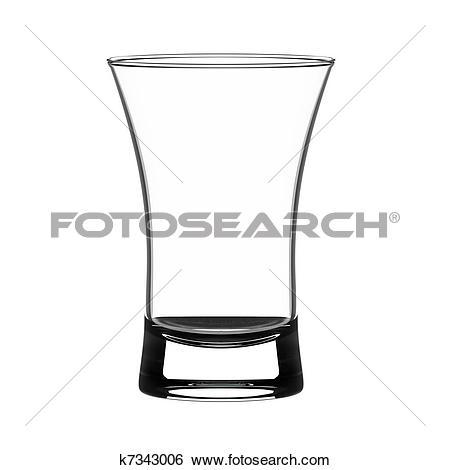 Stock Illustration of Shot glass k7343006.