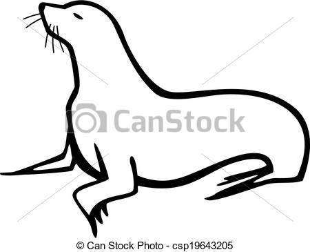 Pinniped Clipart Vector and Illustration. 78 Pinniped clip art.