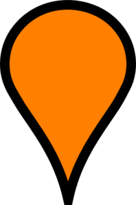 Google map pinpoint clipart.