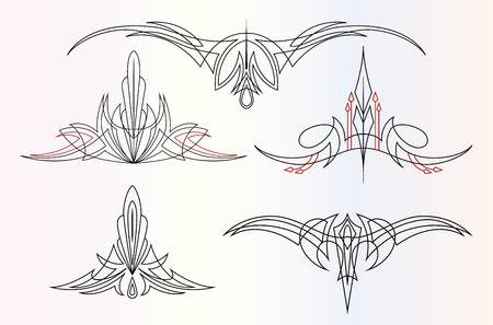 Pinstriping clipart 1 » Clipart Station.
