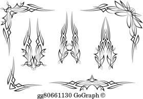 Pinstripe Clip Art.