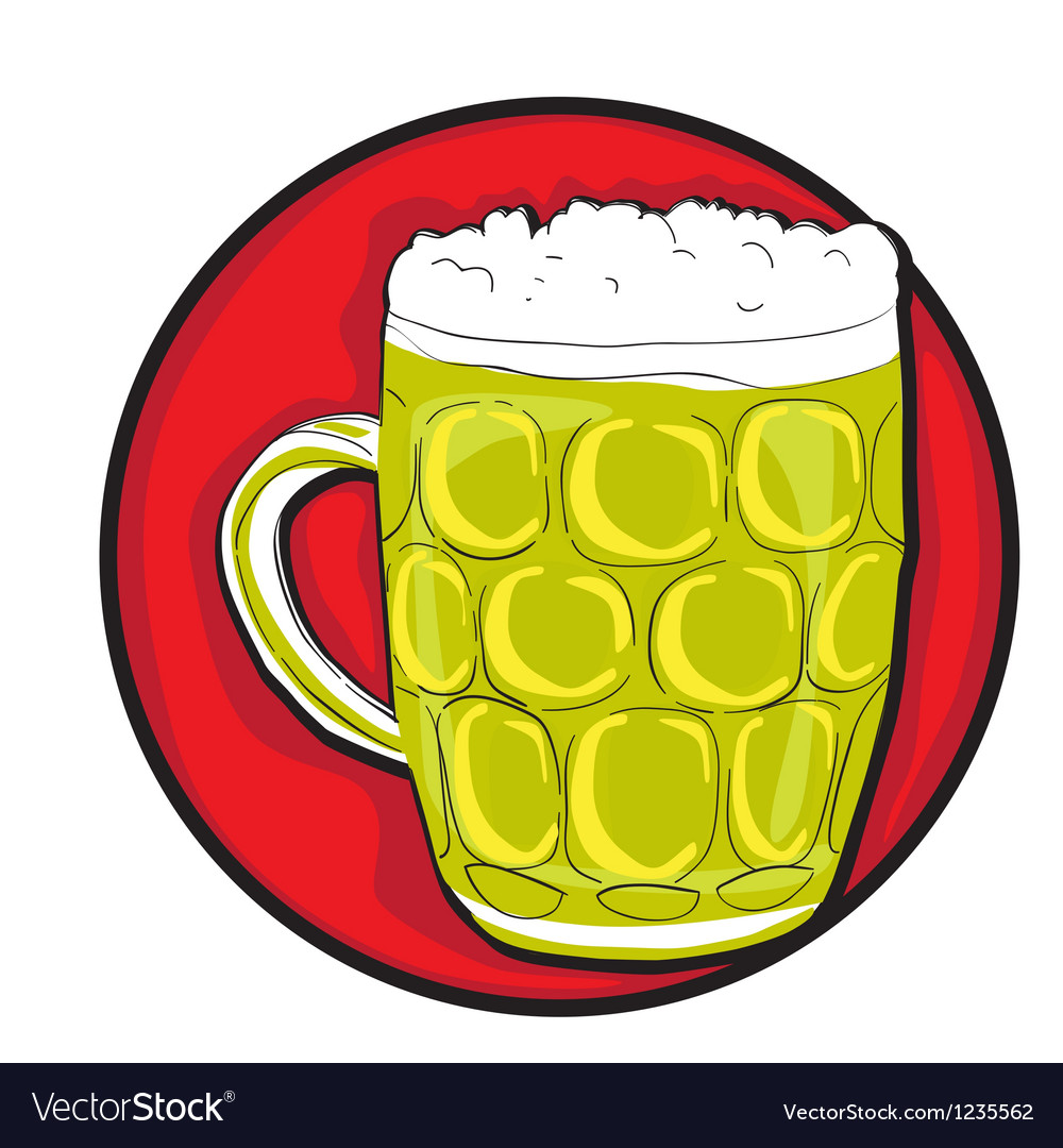 Beer pint clip art.