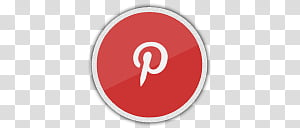 Socialite Icons, Pinterest, Pinterest logo transparent.