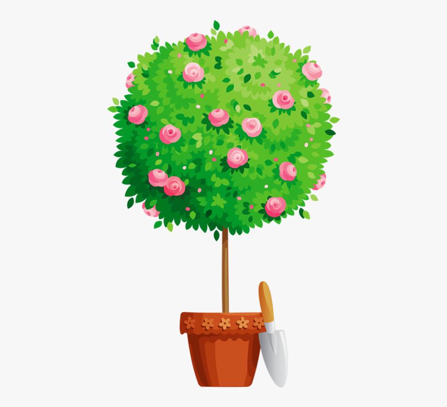 Flower Pot Png Tree Pinterest Clip Art.