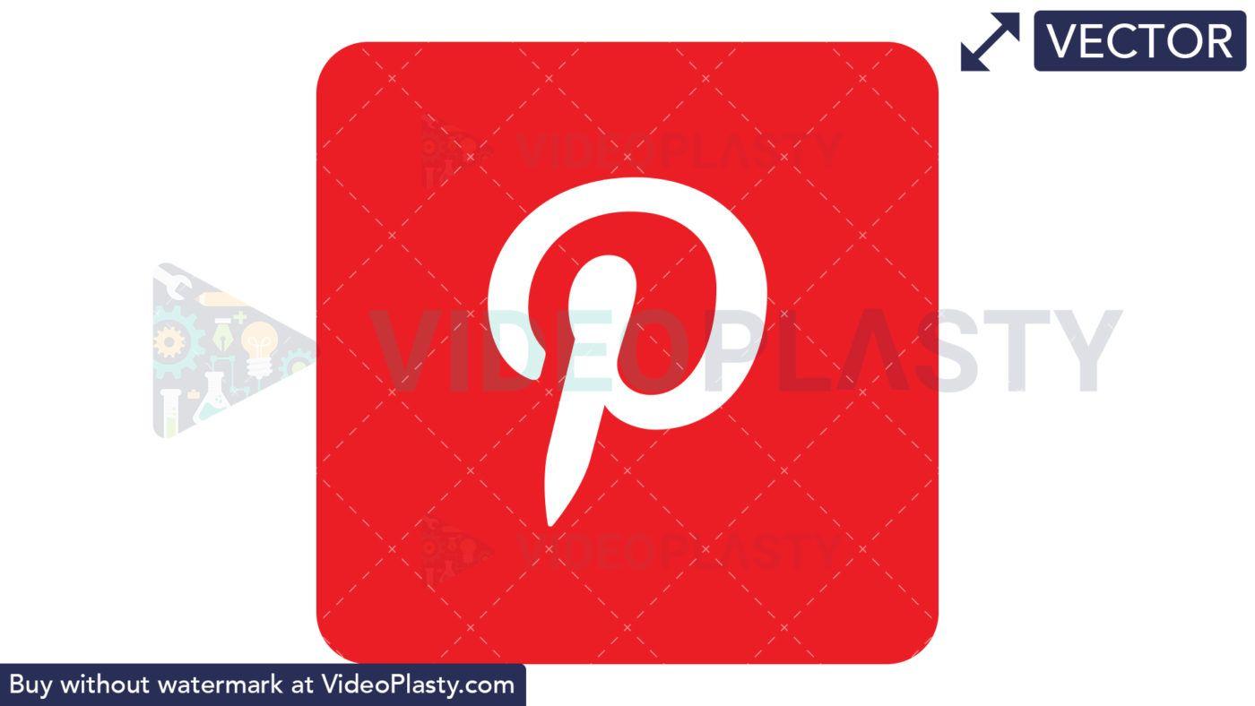 Pinterest Icon.