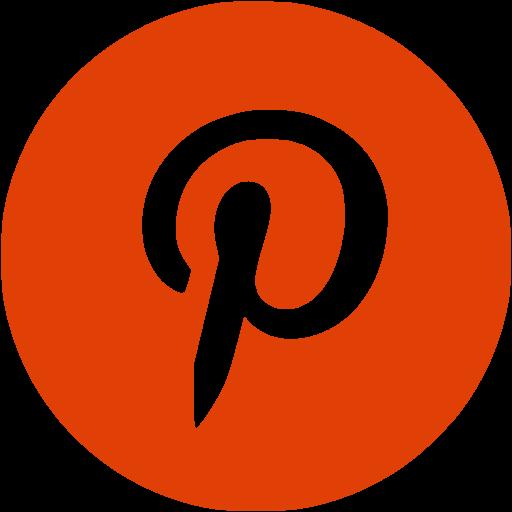 Pinterest logo PNG.