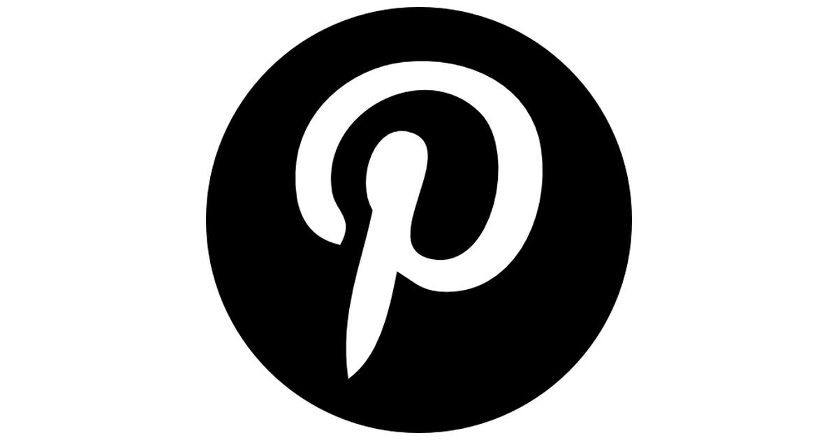 Pinterest logo png transparent background 4 » PNG Image.
