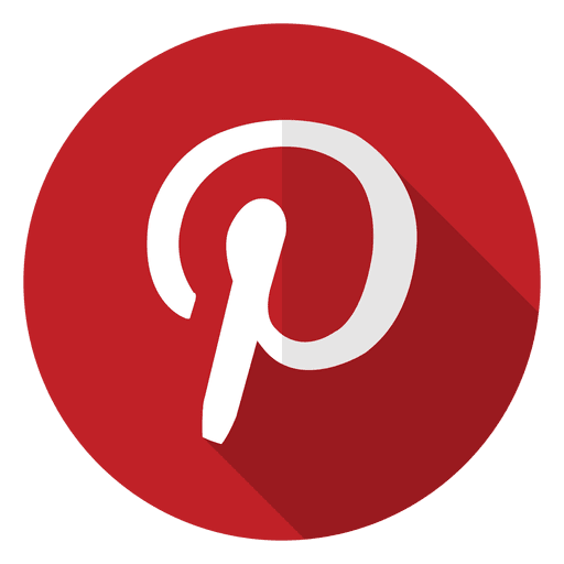 Pinterest icon logo.