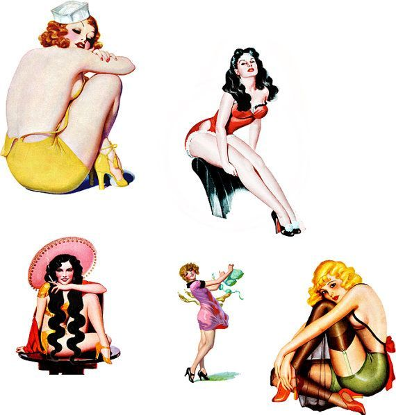 Pin up girl clipart free 5 » Clipart Portal.