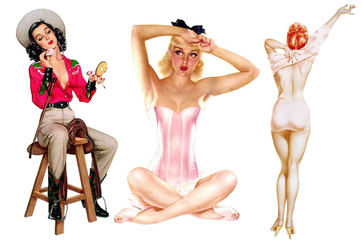 Pinup girls clipart 6 » Clipart Portal.