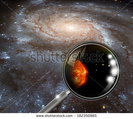 In The Milky Way And Our Solar System (Heic0602a Pinwheel Galaxy.