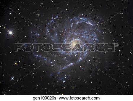 Stock Images of The Pinwheel Galaxy gen100026s.