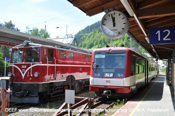 Pinzgauer Lokalbahn Zell am See Krimml Krimmlerbahn Eisenbahn.