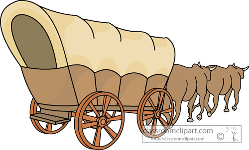 1527 Wagon free clipart.