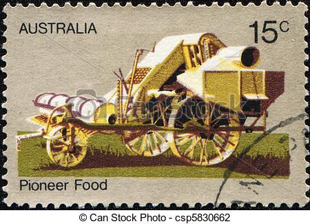 Stock Photo of Pioneer food.