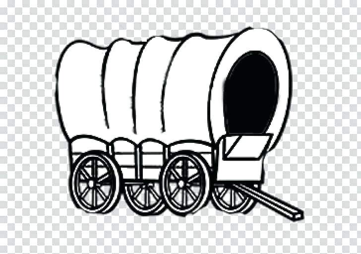 pioneer wagon clipart.
