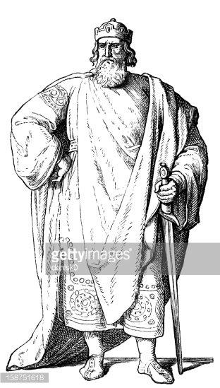 Louis the Pious Clipart Image.