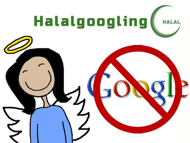 Halalgoogling: Putting the 'beep' in 'be pious while you search.